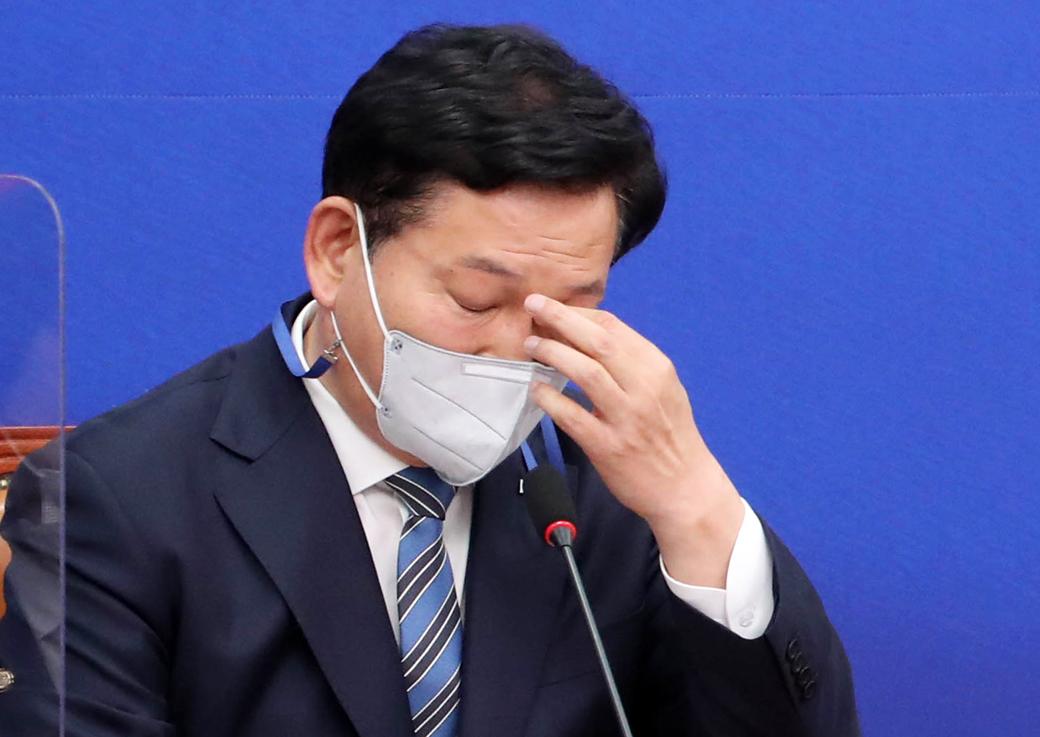 """송영길 """"총리 인준안 처리 野 마지막 합의 되지않아 안타까워"""""""