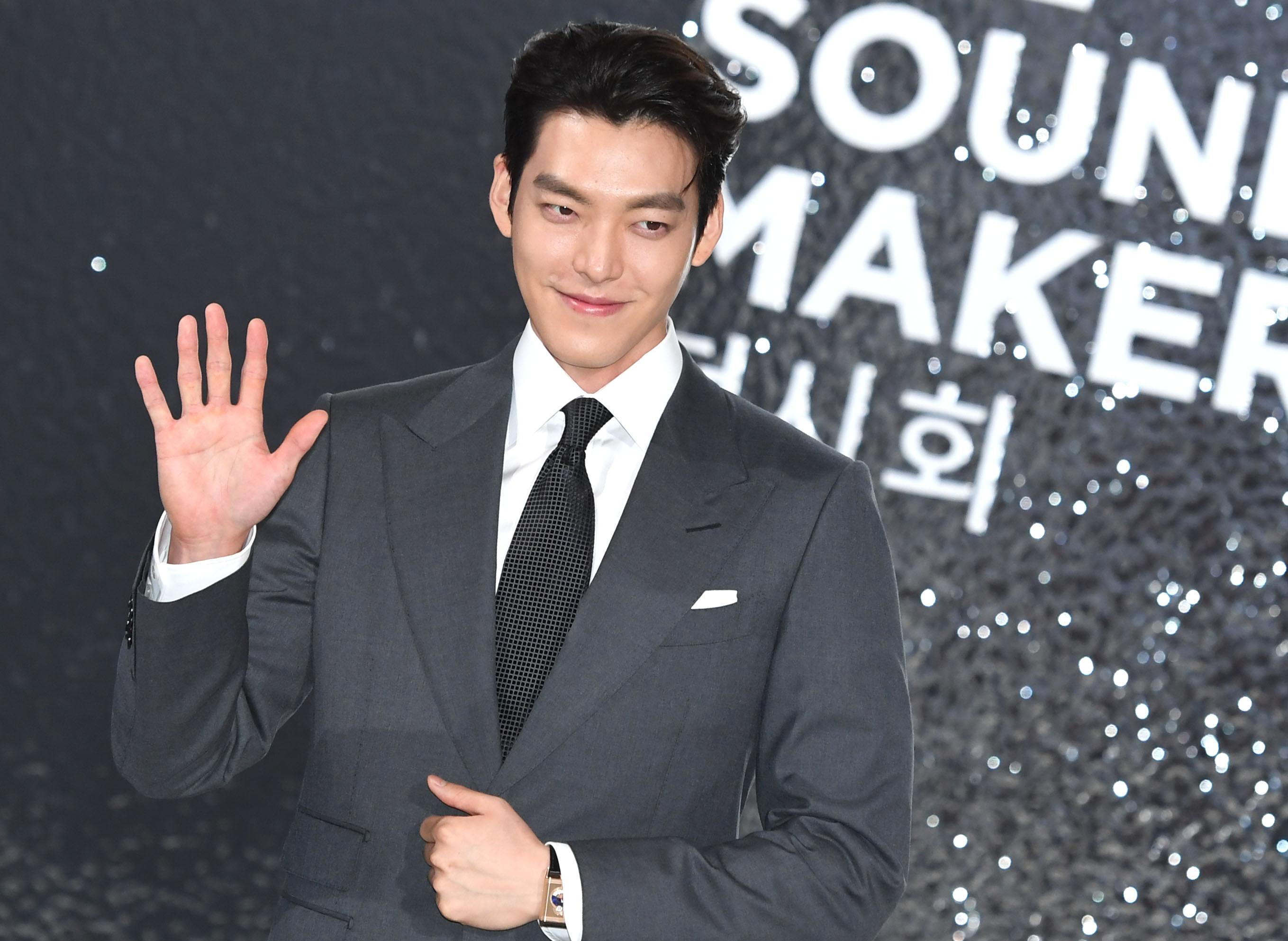 건강하게 컴백한 김우빈 '변함없는 비주얼'