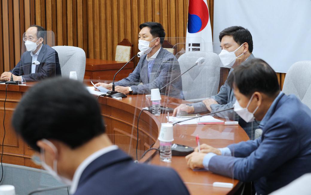 """국힘 김기현 """"與 상임위원장 독식은 위법…"""""""
