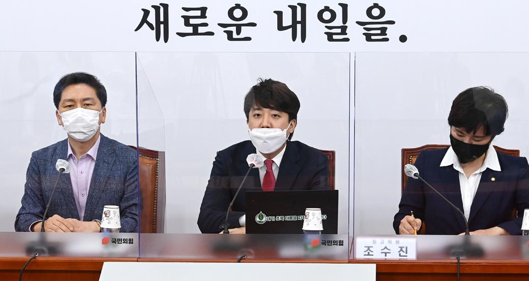 """이준석 """"송영길, 야권 인사 X파일 정리 추측… 매우 부적절"""""""