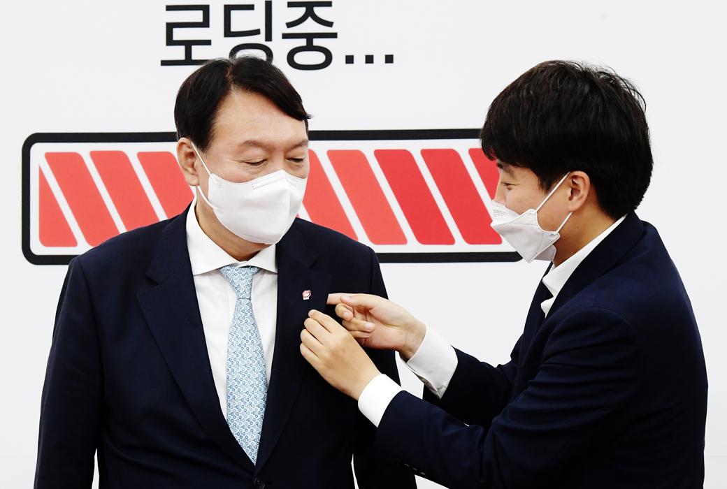 """野 잠룡 윤석열 """"대권 도전은 패가망신…모든 걸 던질 각오 해야"""""""
